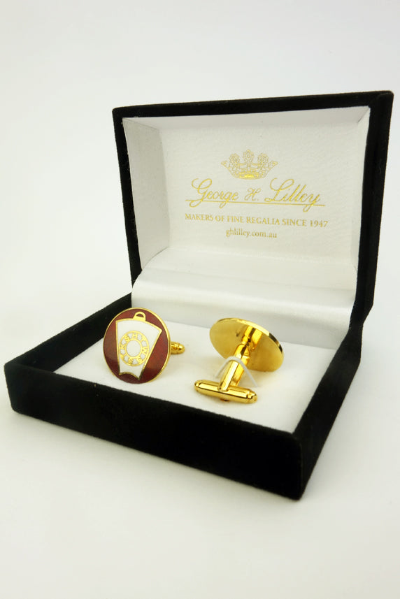 Masonic Cuff Links for Mark Master Mason