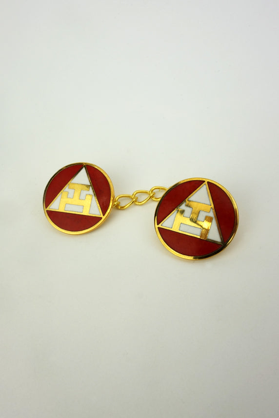 Masonic Jigger Buttons for Royal Arch Chapter