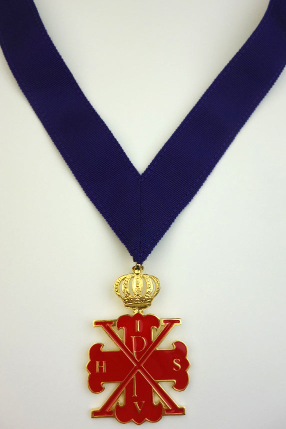 Red Cross of Constantine MPS Collarette and Jewel