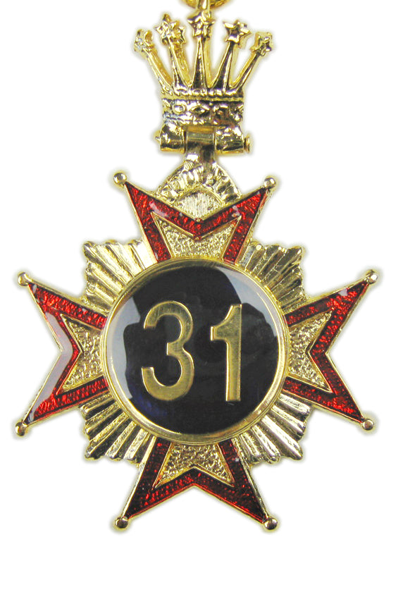 Australian Constitution 31st Degree Collar Jewel