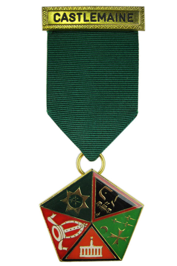 Allied Masonic Degrees Composite Breast Jewel