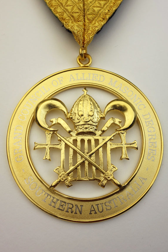 Allied Masonic Degrees Grand Council Collar Jewel