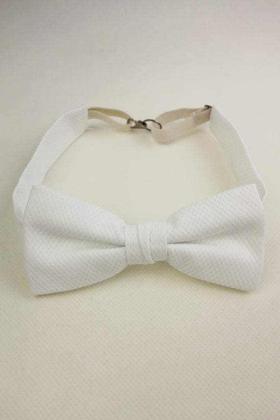 Masonic & Fraternal White Bow Tie