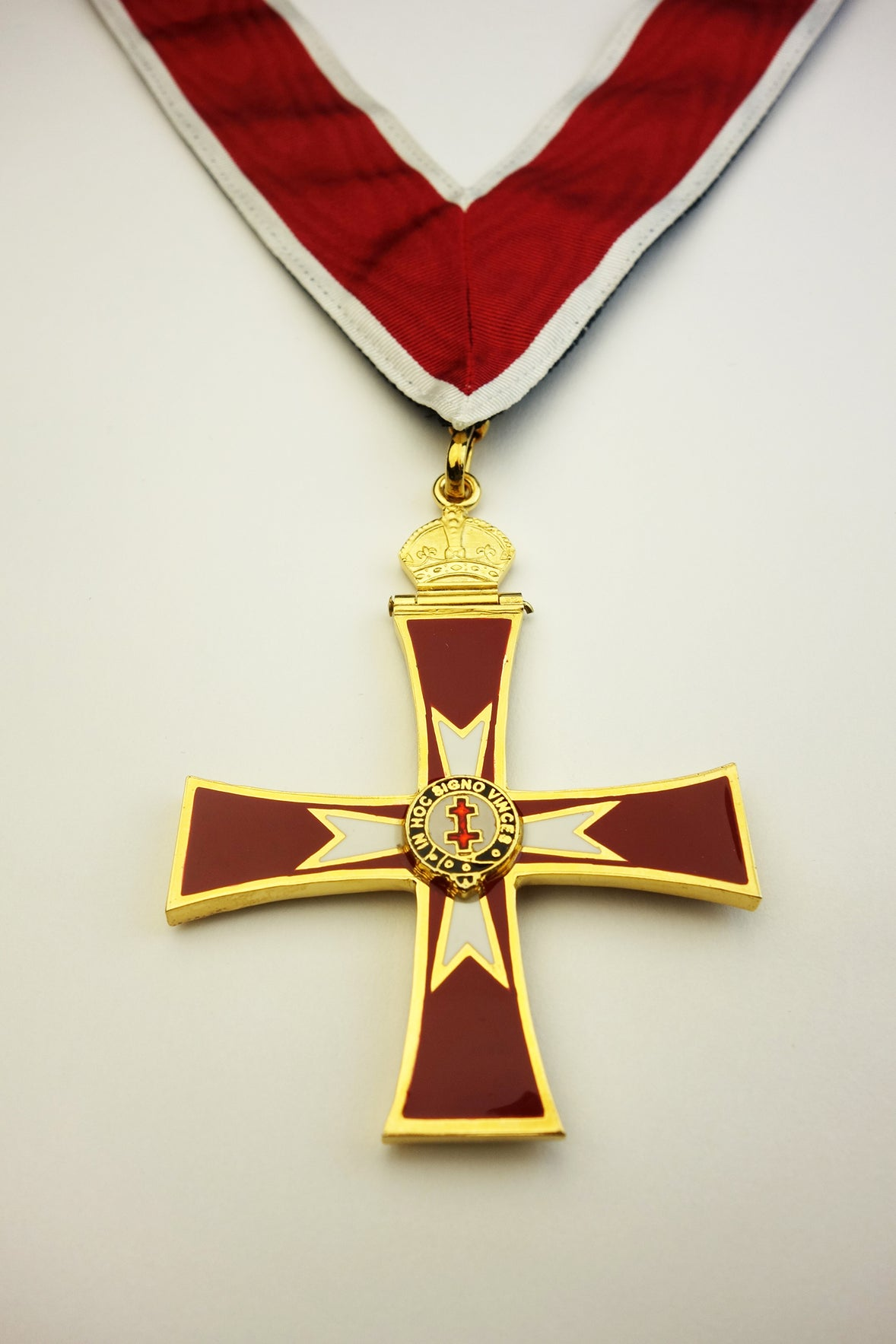 Knights Templar and Knights of Malta Knight Commander Collarette and Jewel