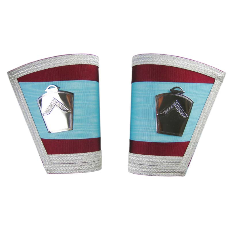Mark Lodge Gauntlets with New Emblems
