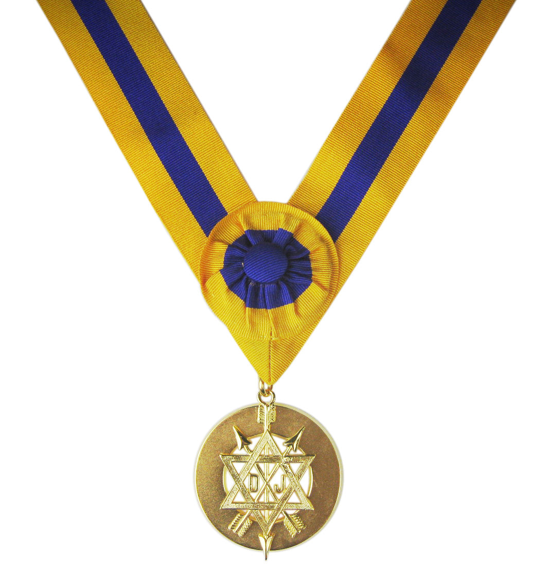 Order of the Secret Monitor Past Supreme Ruler Collarette and Jewel