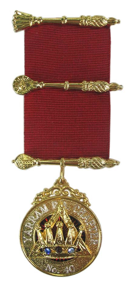 Royal Arch Chapter PZ Breast Jewel