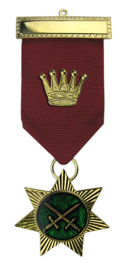 Royal Arch Chapter Red Cross of Babylon Chief Breast Jewel