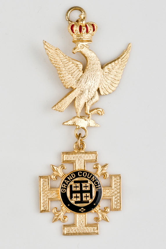 Red Cross of Constantine Grand Officer Collarette Jewel