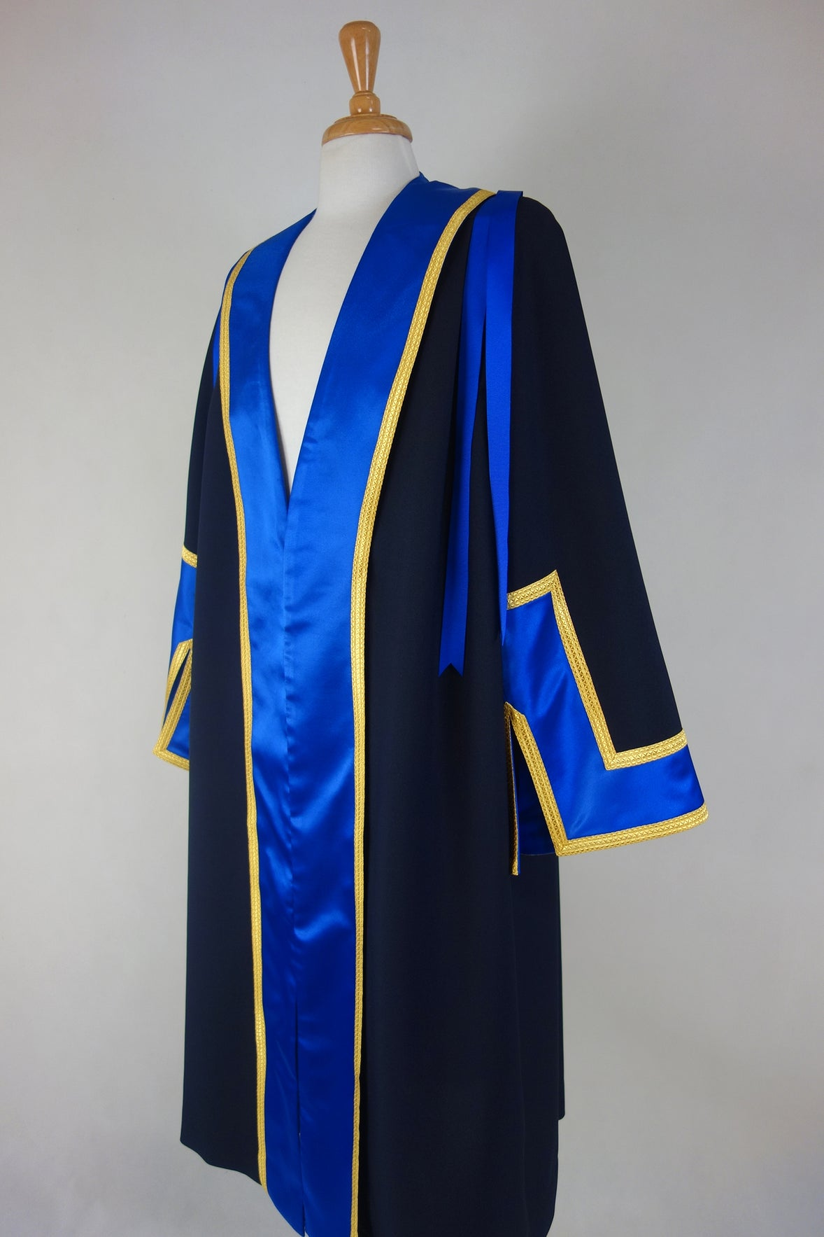 Satin and Gold Mayoral Robe