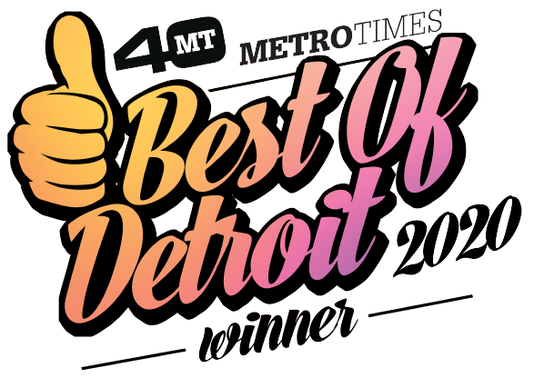 Best of Detroit 2020 metro times winner for art gallery thumbs up magazine award interior design of the year framing printing located in troy michigan rochester we print awards, signs, art, plaques, metal, wood, canvas we frame with larson juhl, moulding