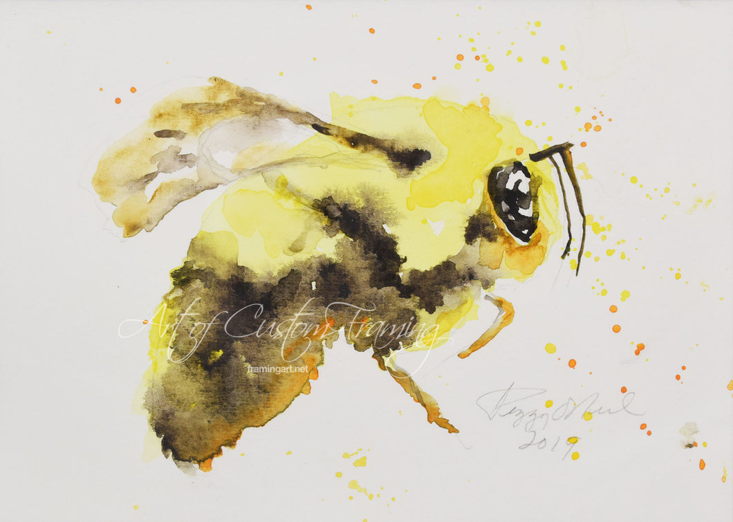Bee #2 by Peggy O'Neil