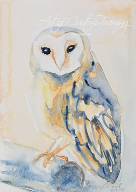 Blue Owl by Peggy O'Neil