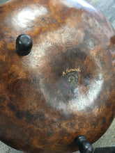 Load image into Gallery viewer, Large Brown Gourd with Agate by Karen Fenwick
