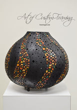 Load image into Gallery viewer, Large Mosaic Wave Gourd by Karen Fenwick