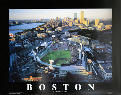Boston - Fenway Park by Mike Smith