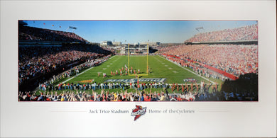 Touchdown! - Jack Trice Stadium by Rick Anderson