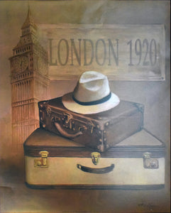 London 1920 Poster