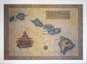 Hawaiian Islands by J. Longacre