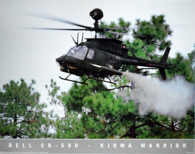 Bell CH-58D - Kiowa Warrior by Marty Winter