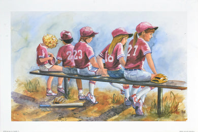 Girls to Bat by Glenda Brown