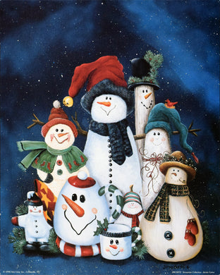 Snowman Collection by Jamie Carter