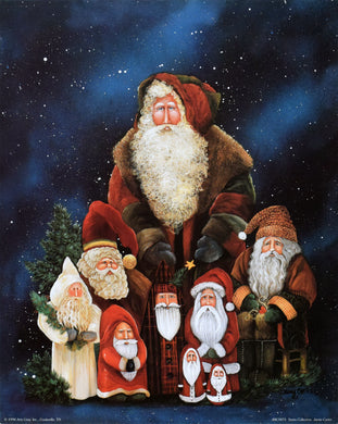 Santa Collection by Jamie Carter
