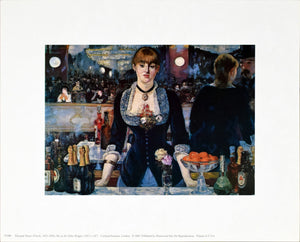 Bar at the Folies Bergere by Edouard Manet
