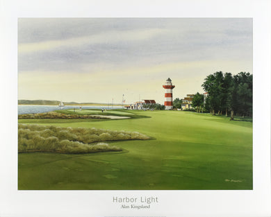 Harbor Light by Alan Kinsland