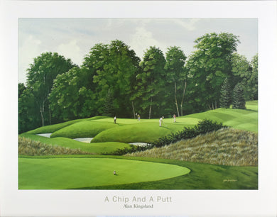 A Chip and A Putt by Alan Kinsland