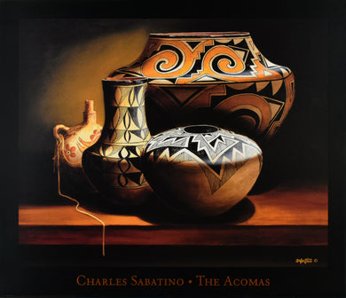 The Acomas by Charles Sabatino