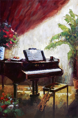 Piano Parlour by C. Bailey