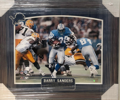Signed Barry Sanders Image