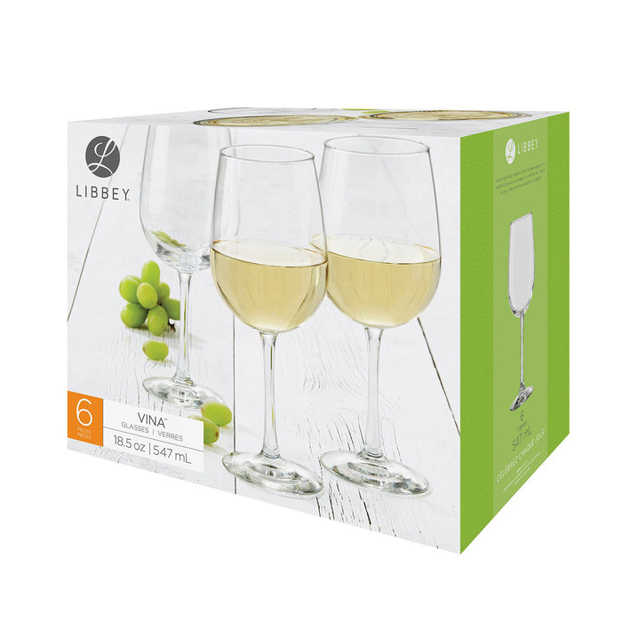 SET 6 COPAS VINA VINO 547 ML