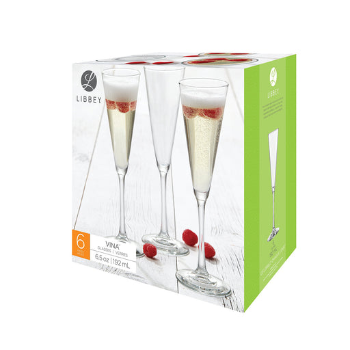 SET 6 COPAS VINA TRUMPET 192 ML.