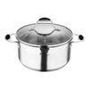 SET 8 PZAS ACERO INOX FOODIES