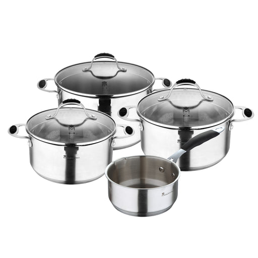 SET 7PZ ACERO INOX FOODIES