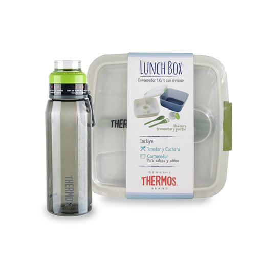 PACK CONTENEDOR CUADR. 1,6LT + BOTELLA 940ML