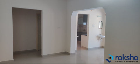 2 BHK Semi-furnished Flat for rent at - Sai Megha Shyam Apartments, Banaswadi