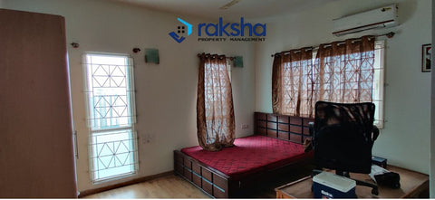 4 BHK Semi-Furnished Flat ready to occupy at Prestige Shantiniketan