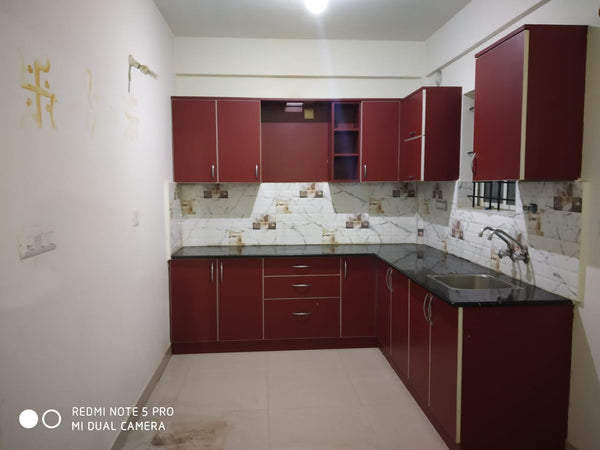 2 BHK Semi-furnished flat for rent - DS Max Signature (RMV Extension)