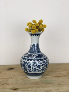 Limited Edition Blue & White Vases - Casaflor
