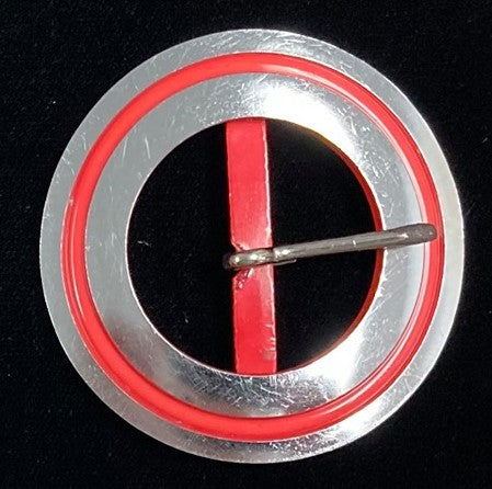 1940s plastic belt buckle