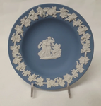 Wedgwood Blue and White Jasperware plate