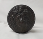 Old Victorian Brass Lion Doorknob