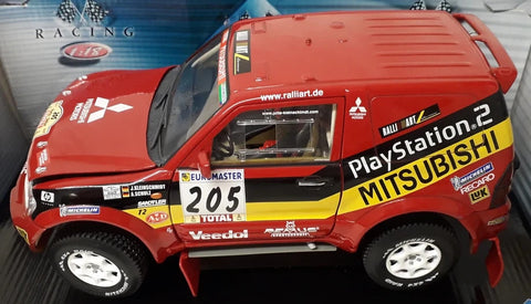 Playstation 2 Mitsubishi Red Toy Truck