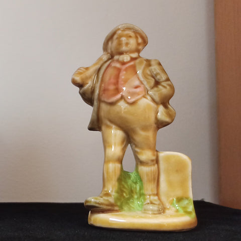 Large Porcelain Whimsy Figure - Farmer