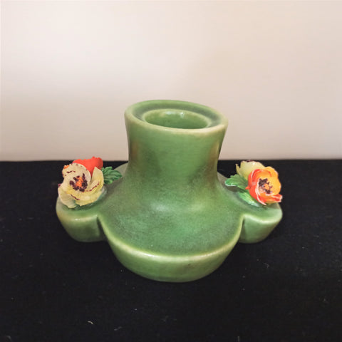 Crown Staffordshire Art Deco Candlestick Holder