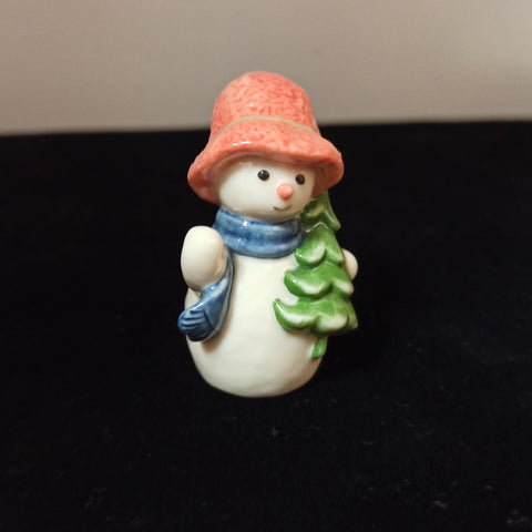 Miniature Royal Copenhagen Snowman