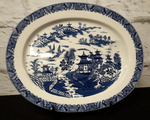 Royal Worcester Ashet 'Willow' pattern
